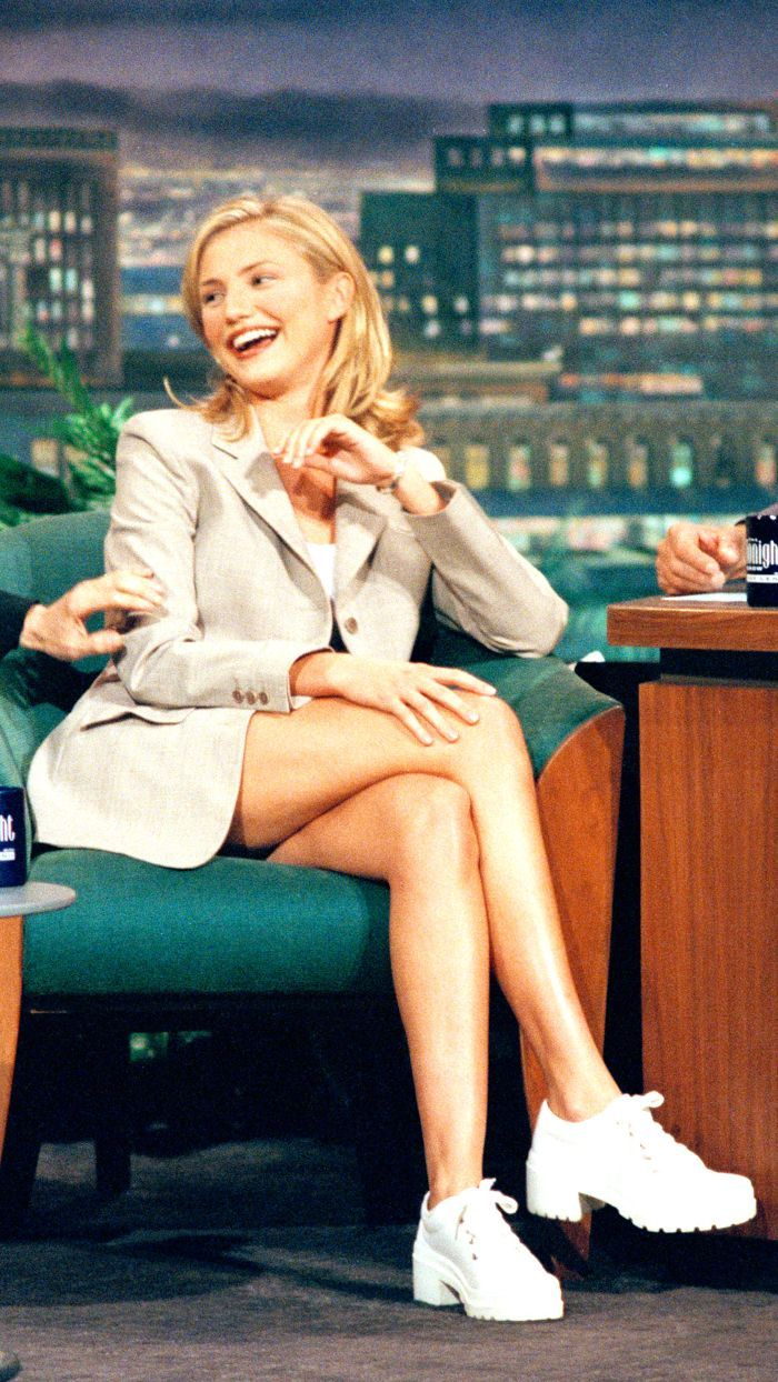 Cameron Diaz: We've Overlooked Cameron Diaz's '90s Style for Far Too Long.  We're loving Cameron Diaz...
