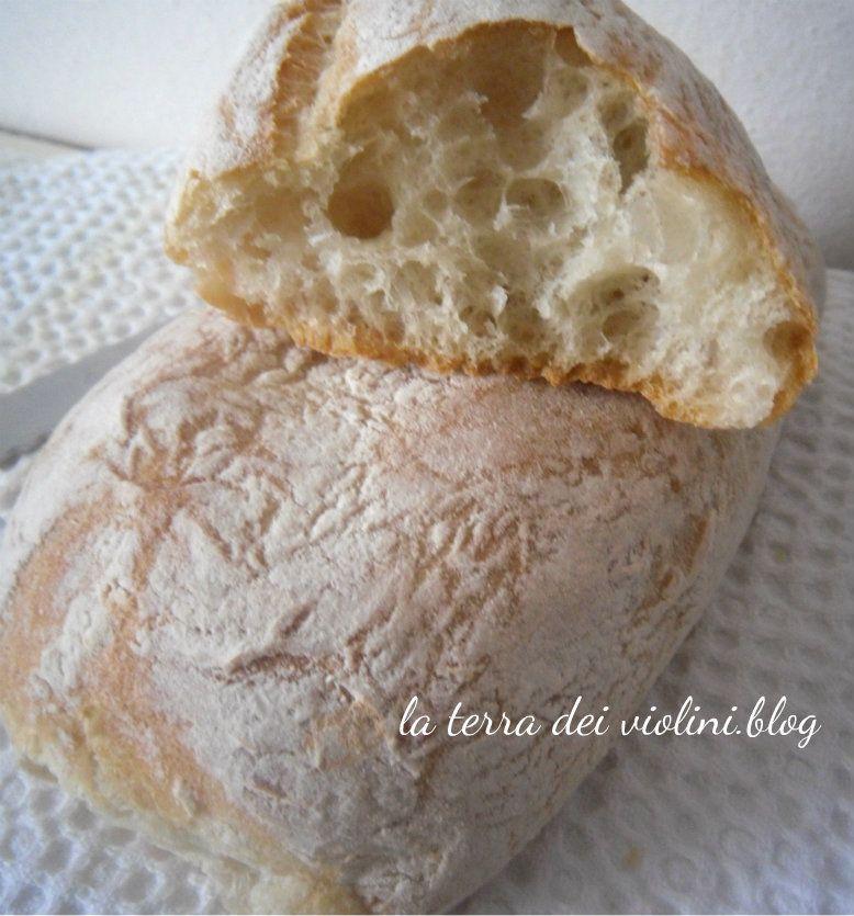 Ricette Lievito Madre Essiccato.Ciabattine Con Lievito Madre Essiccato Idee Alimentari Ricette Cibo