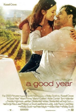 A Good Year (2006). One of my favourite movies, filmed in the Luberon Valley at  Chateau La Canorgue, Bonnieux (Provence, France). Been there once and love to go again...