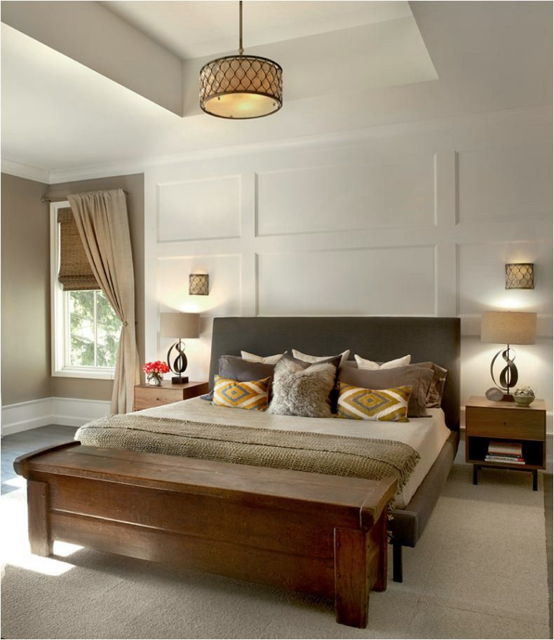 Dimensional Wall Treatments With Images Remodel Bedroom Home
