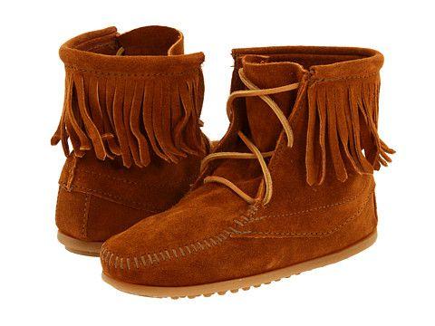 The Munchkin Needs Another Pair This Year Minnetonka Ankle Hi Tramper Boot Minnetonka Kids Girls Shoes Kids Minnetonka Boots