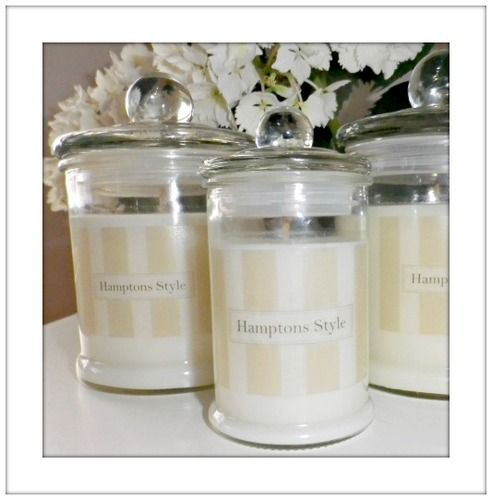 HS Coconut & Lime Soy Candle Large