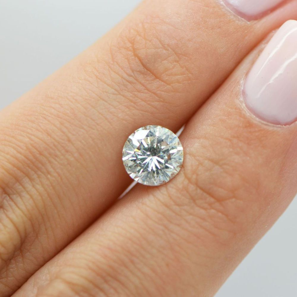 Round Brilliant 1 6 Carat H Si2 Natural Loose Diamond Clarity Enhanced For Ring Diamond Natural Diamonds Loose Diamonds
