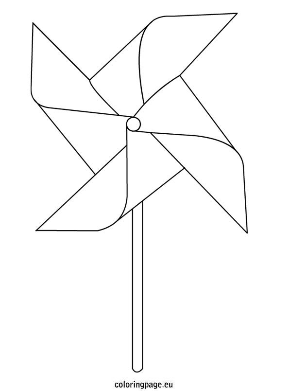 Pinwheel Coloring Page Coloring Pages Pinwheels Quilt Labels