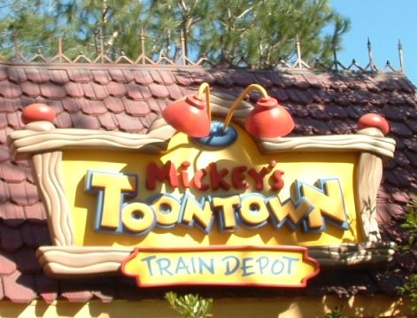 Mickey's Toontown.