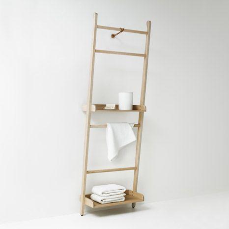 Accessori bagno porta asciugamani stairs da agape - Agape accessori bagno ...