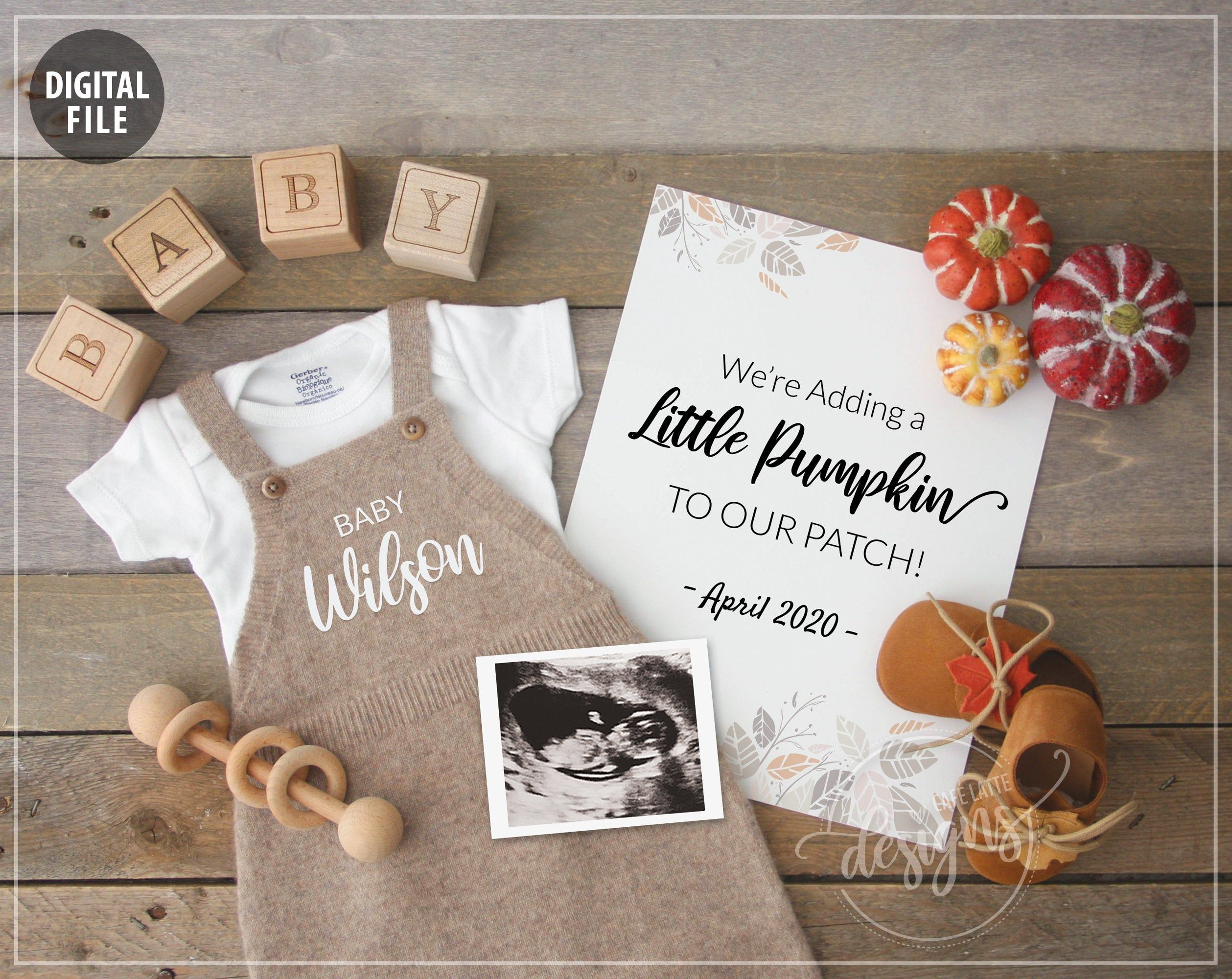 Pin on Fall pregnancy announcement