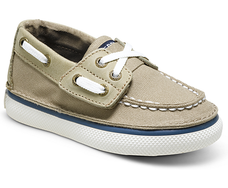 Cruz Jr. Boat Shoe, Khaki