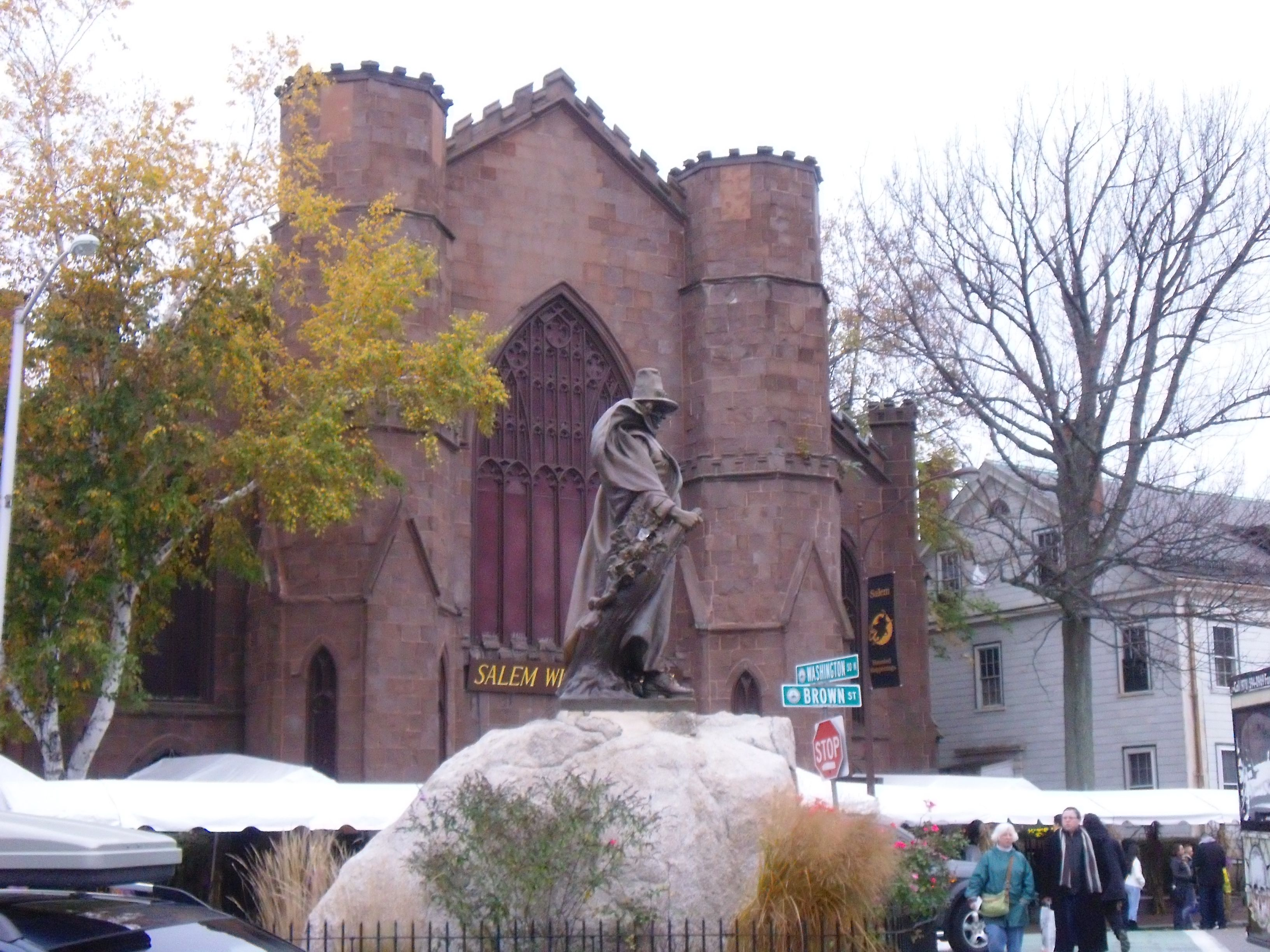 always go to Salem Mass.-its a ritual!!!!