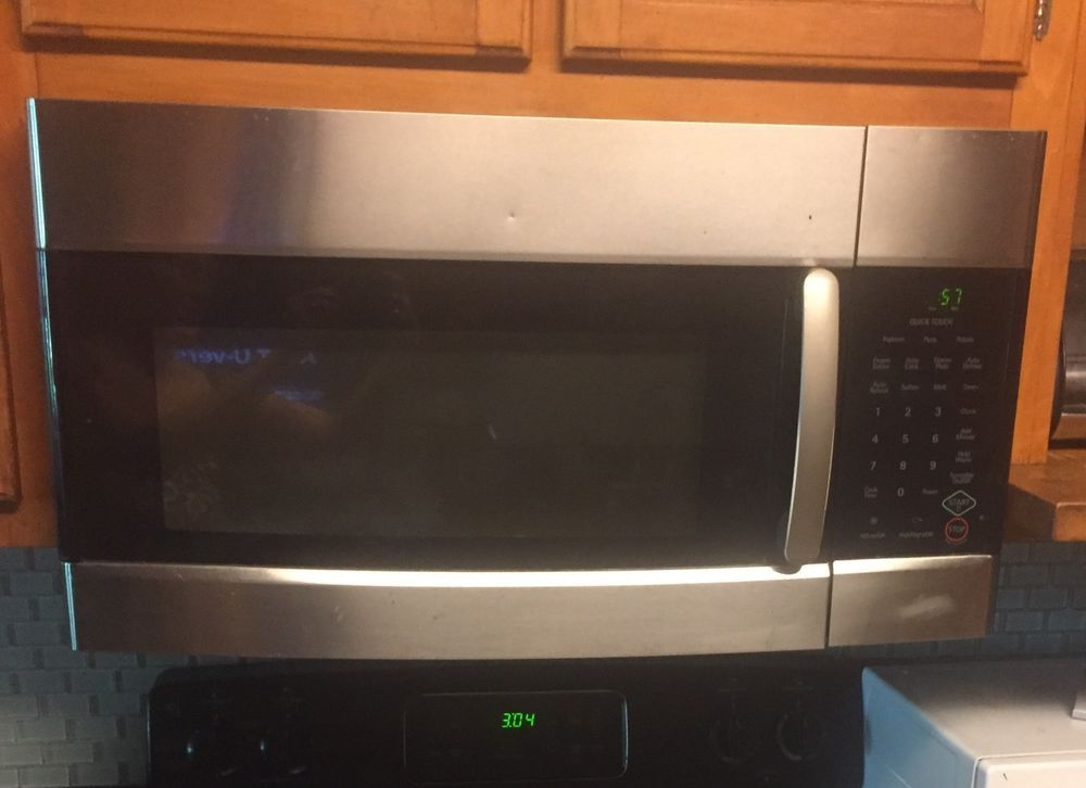 Kenmore Stainless Steel Over The Range Hood Microwave Oven Samsung Range Hood Microwave Oven Microwave