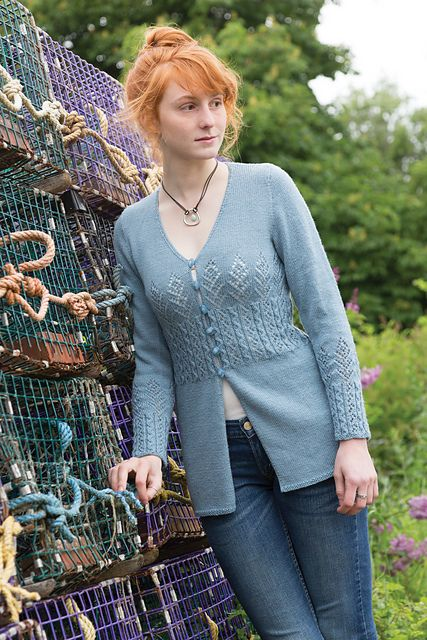 Elva pattern by Fiona Ellis