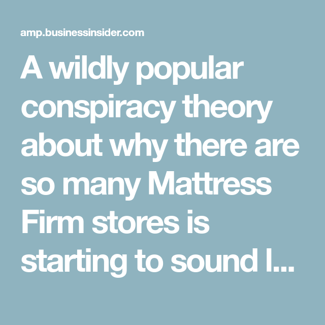 A Wildly Popular Conspiracy Theory About Why There Are So Many