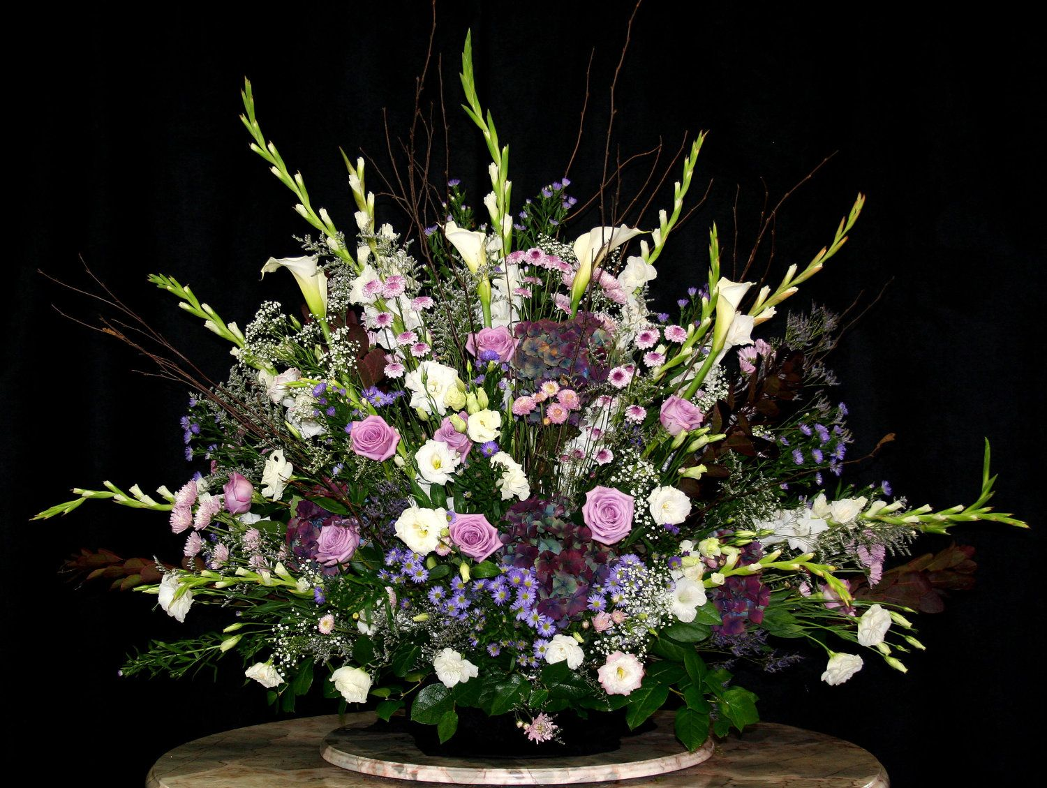 Wedding Flowers Church Alta Giant Altar Arrangement Church Flowers Event Church Flower Arrangements Wedding Flower Arrangements Church Flower Arrangements