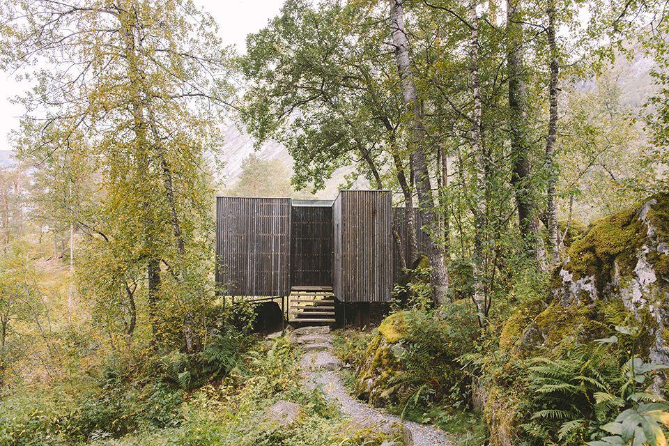 Juvet Landscape Hotel, Norway - Juvet Landscape Hotel Archidork Architecture, Landscape, Cabin