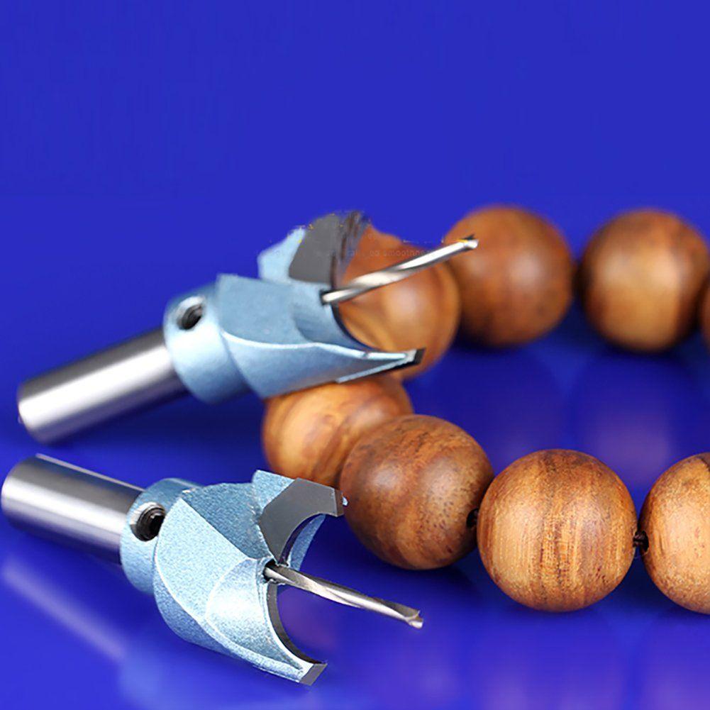 8mm Hole Saw Drill Bit CNC Carbide Steel Cutter Wood Cutting Buddha Beads
