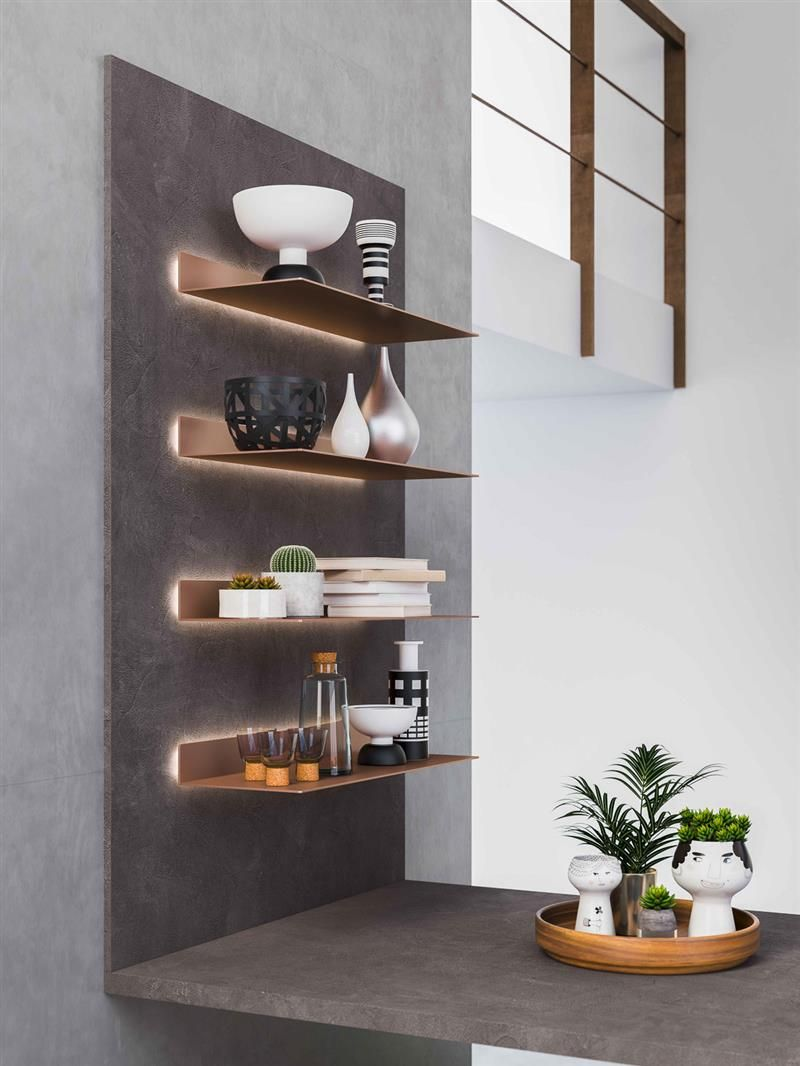 Haften Studio - Mensole Sky   Mensole cucina, Idee per ...