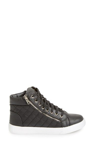 cf785e0a99f Steve Madden  Decaf  Quilted High Top Sneaker (Women)