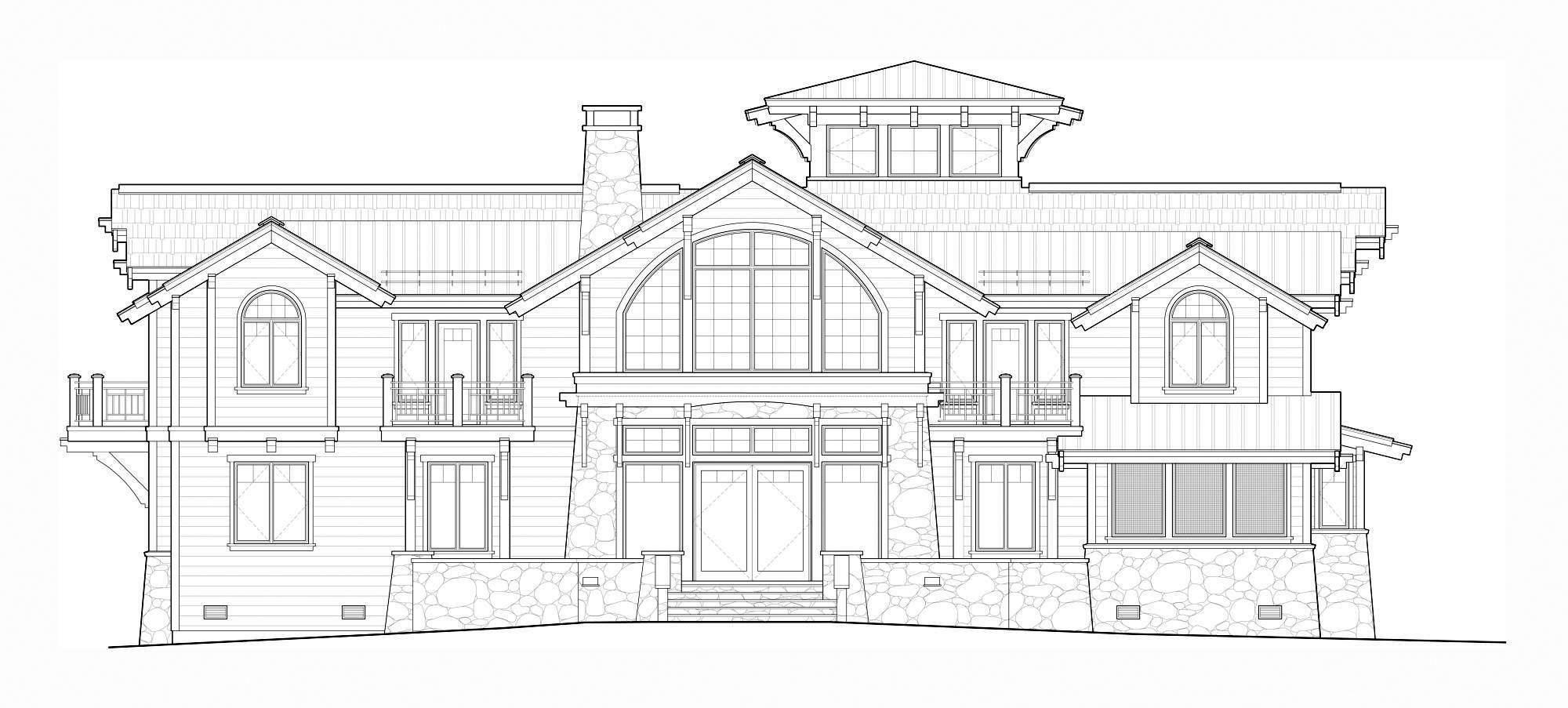 Mountain Architects: Hendricks Architecture Idaho – Sketches to ...