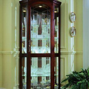 Corner Curio Cabinets With Gl Doors
