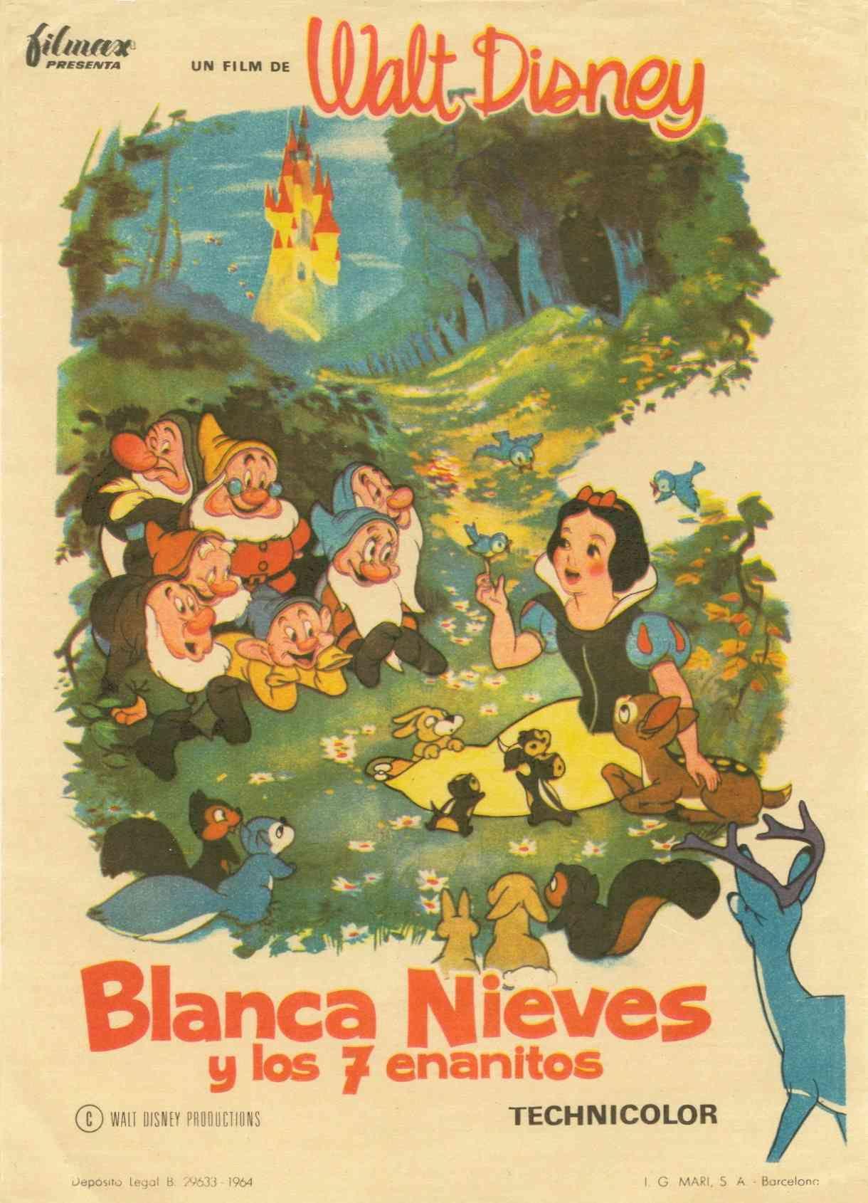 Resultado de imagen para Blancanieves y los siete enanos (1937)