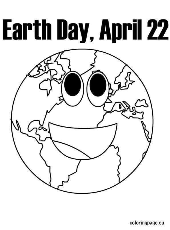 Earth Day Coloring Pages #2284 | Pics to Color | Earth day ...