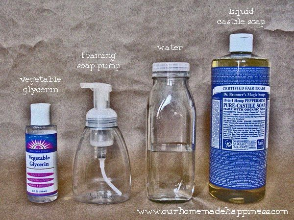 Homemade Foaming Hand Soap Homemade Foaming Hand Soap Foaming
