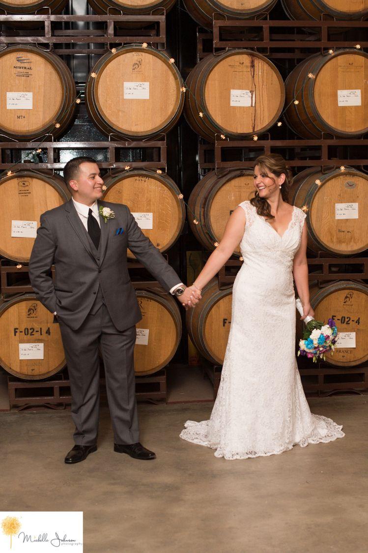 mt palomar winery wedding pictures barrel room