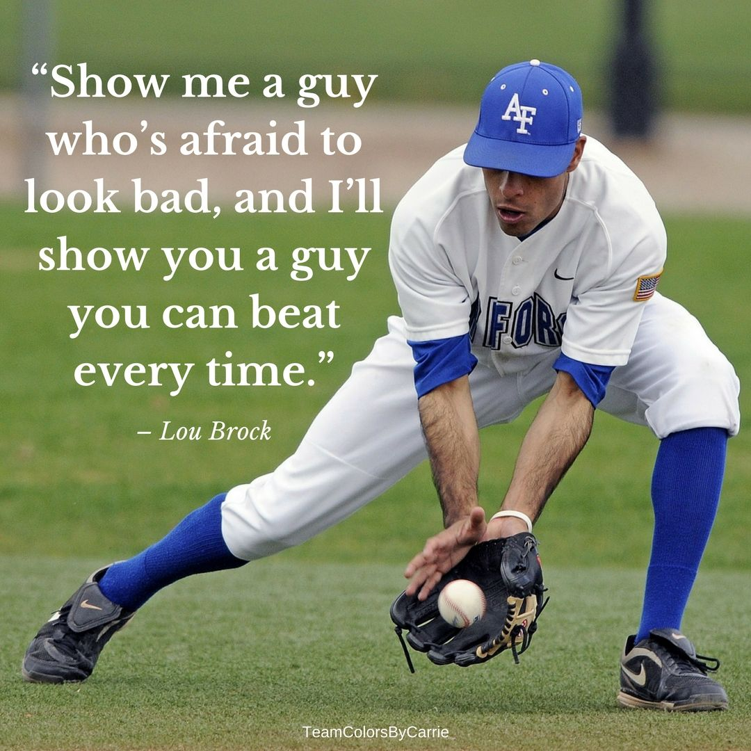 Baseball Love Quotes Lou Brock  We Love Baseball  Pinterest  Sport Quotes