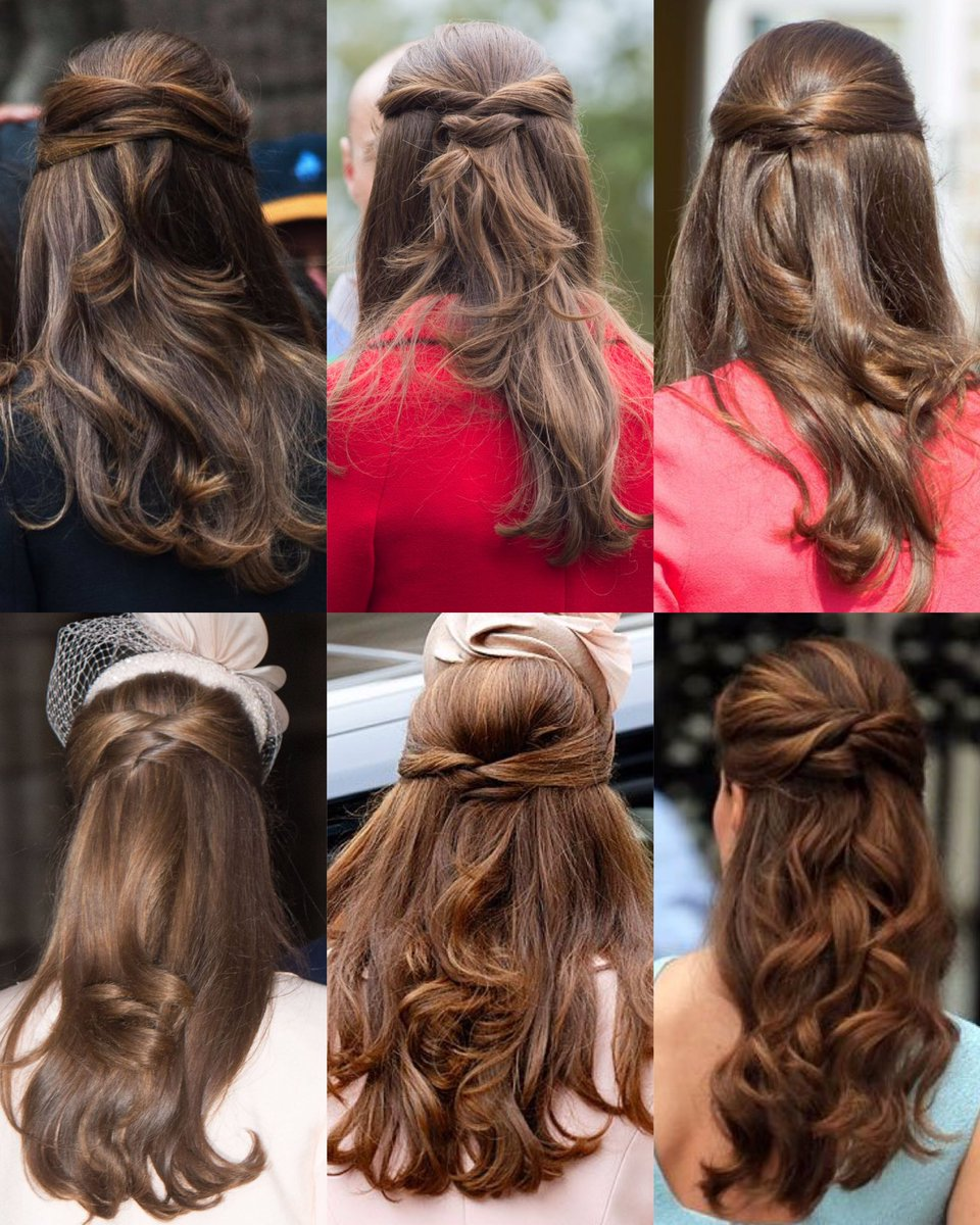 Katie On Twitter Hair Styles Kate Middleton Hair Elegant Ponytail
