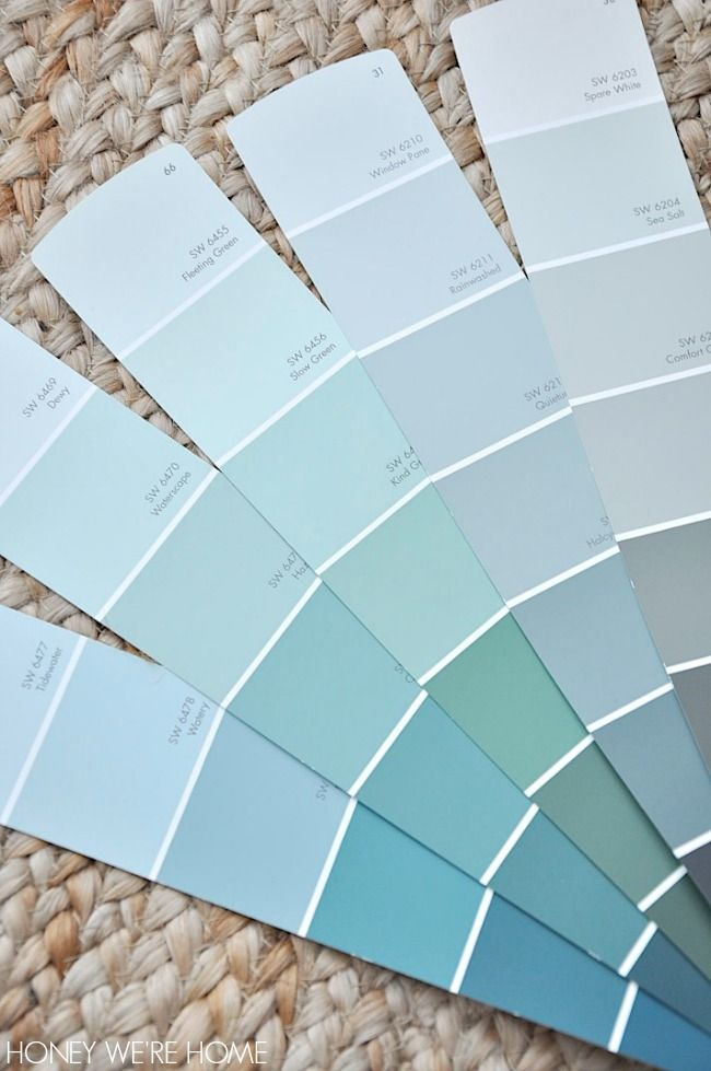 Choosing paint for the dining room sherwin williams sea for Choosing paint colors