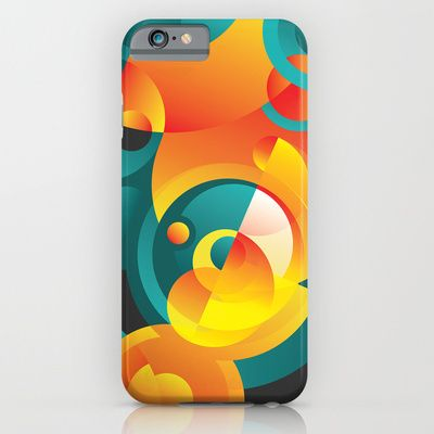Cosmogony #02 iPhone & iPod Case by Azarias. Available at #society6 - $35.00