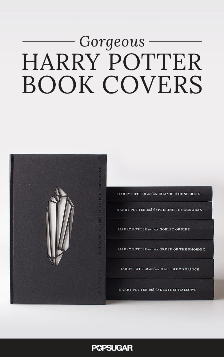 Book With Black Cover ~ The prettiest harry potter book covers in all universe