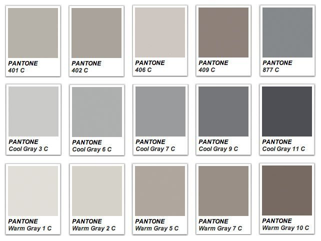 Pantone warm gray google search color theory for Warm neutral grey paint