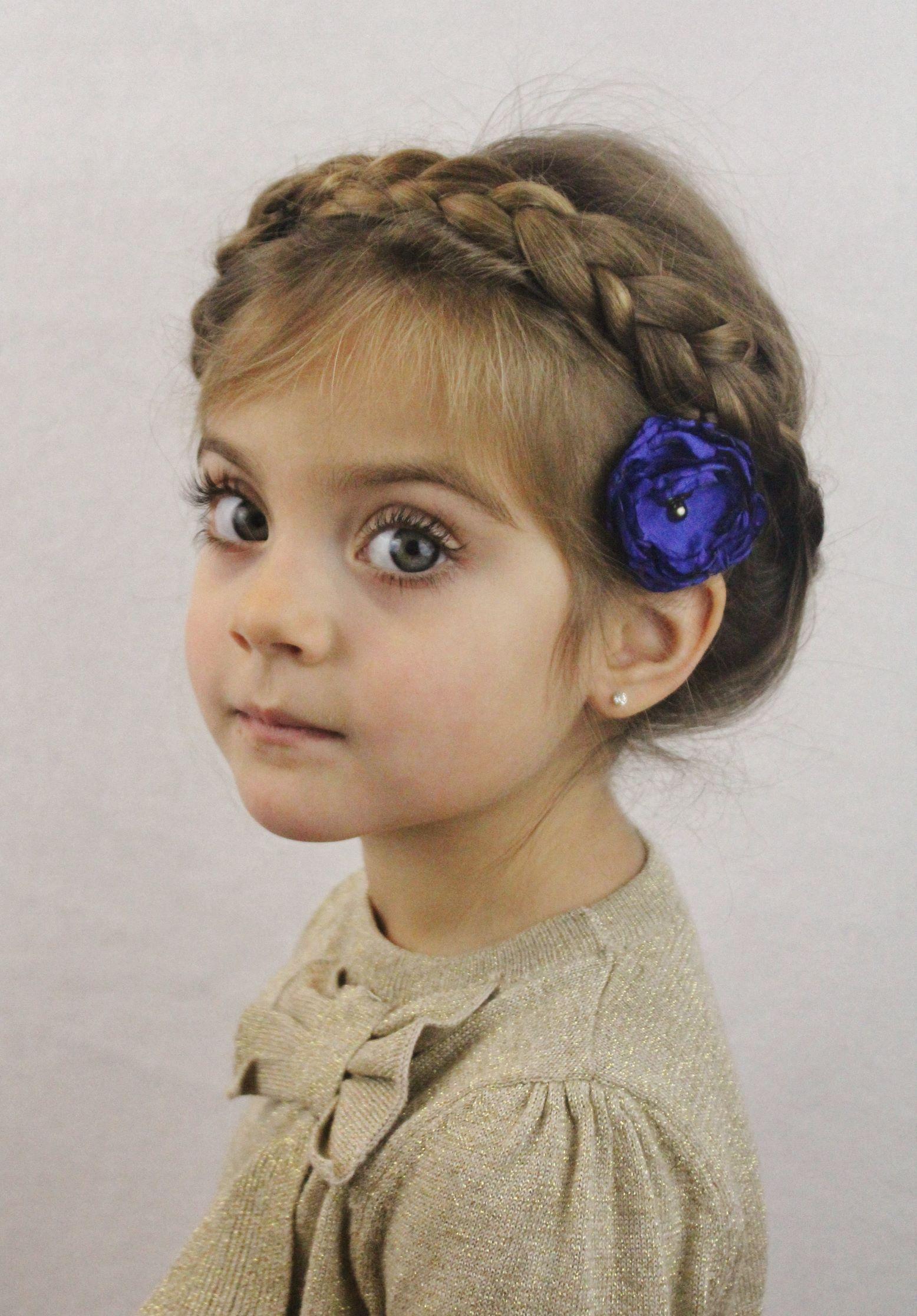 Silvesterparty-Frisuren für Mädchen  Frisur kinder mädchen