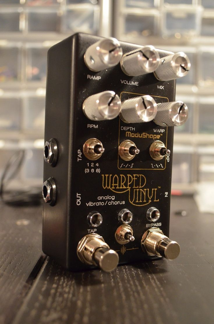 Chase Bliss Audio Warped Vinyl In 2019 Guitar Tuners