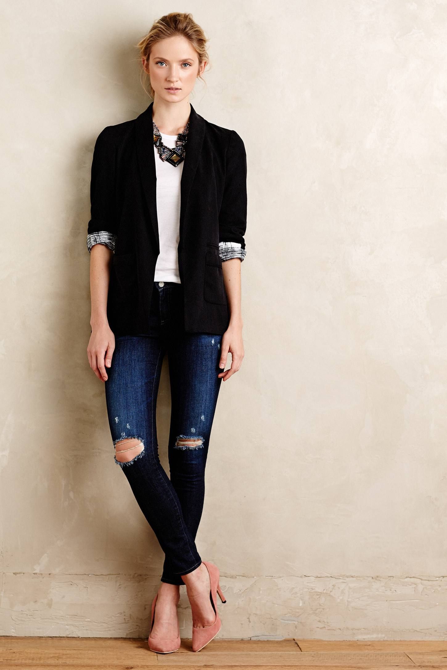 Bexhill Blazer - anthropologie.com | Clothing | Pinterest ...