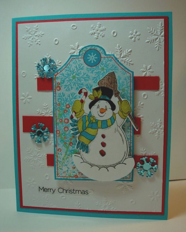Frosty the Snowman   Frosty the snowmen, Cards handmade ...