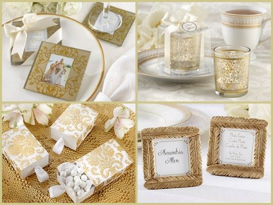 Gold Elegant Wedding Favors From Hotref