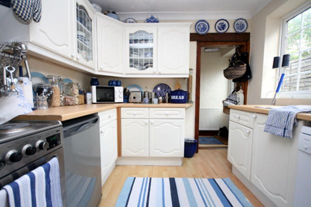 Superior Blue Willow Kitchen