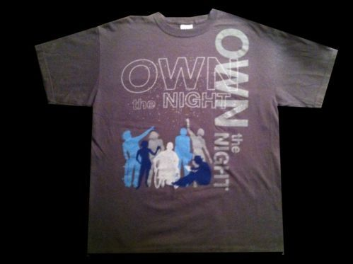 1cbb023eb1122a Tiesto Wolfgang Gartner feat Luciana We Own The Night Reproduction Style T- Shirt