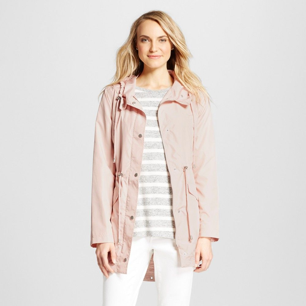 44fd021ca Women's Rain Coat Peach (Pink) XL - Merona, Coats & Jackets ...