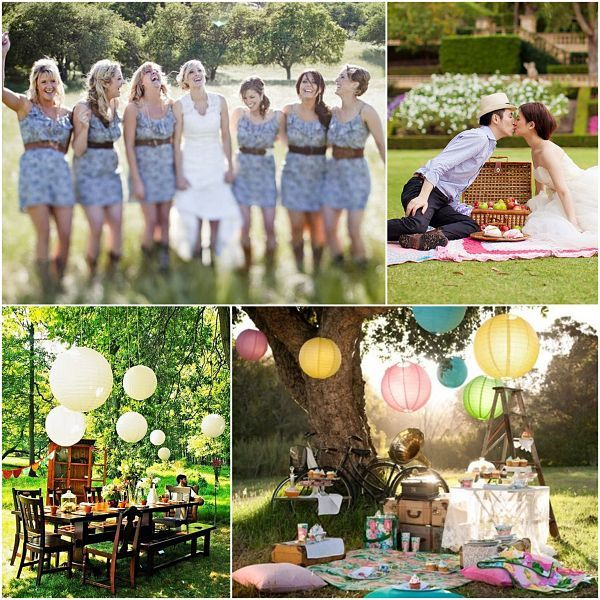 Love Wed Bliss Inspiration Board Outdoor Weddings