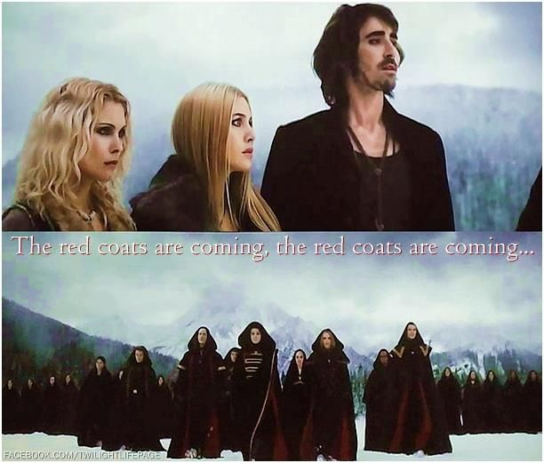 the red coats are coming // breaking dawn part 2