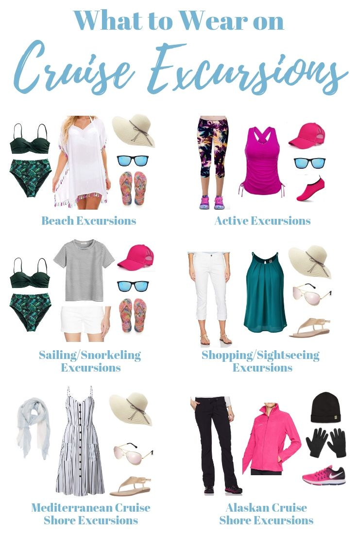 What to Wear on Cruise Excursions (+ What to Pack in Your Day Bag) - Cruise Packing Tips