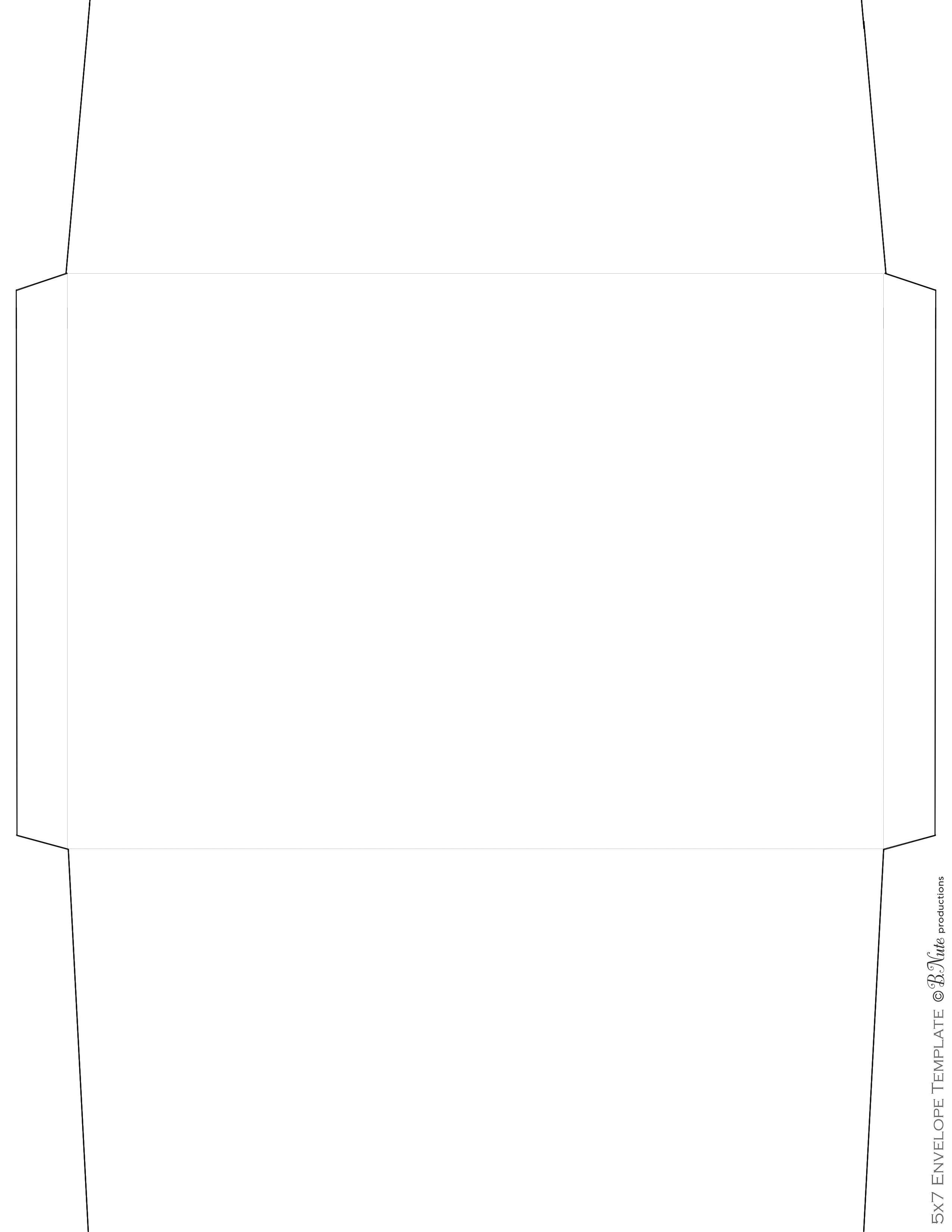 Scrapbook paper envelope template - Scrapbook Paper Ideas Printed Envelope Including Envelope Templates