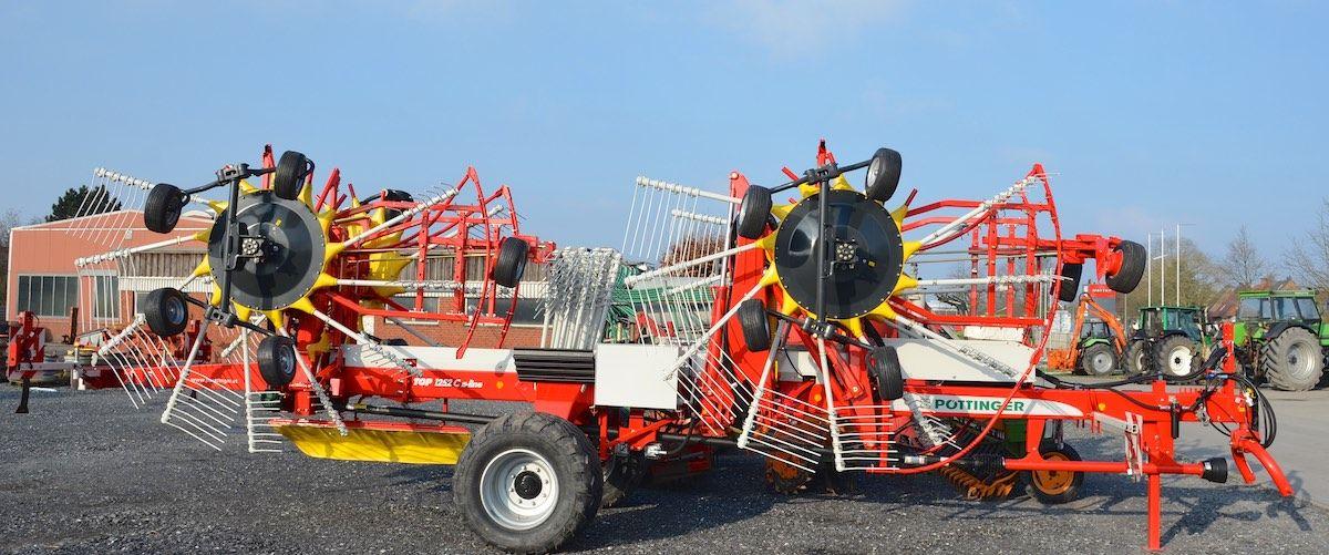 Pottinger Top 1252 C S Line Vierkreisel Schwader Landwirtschaft Agrartechnik Landmaschinen