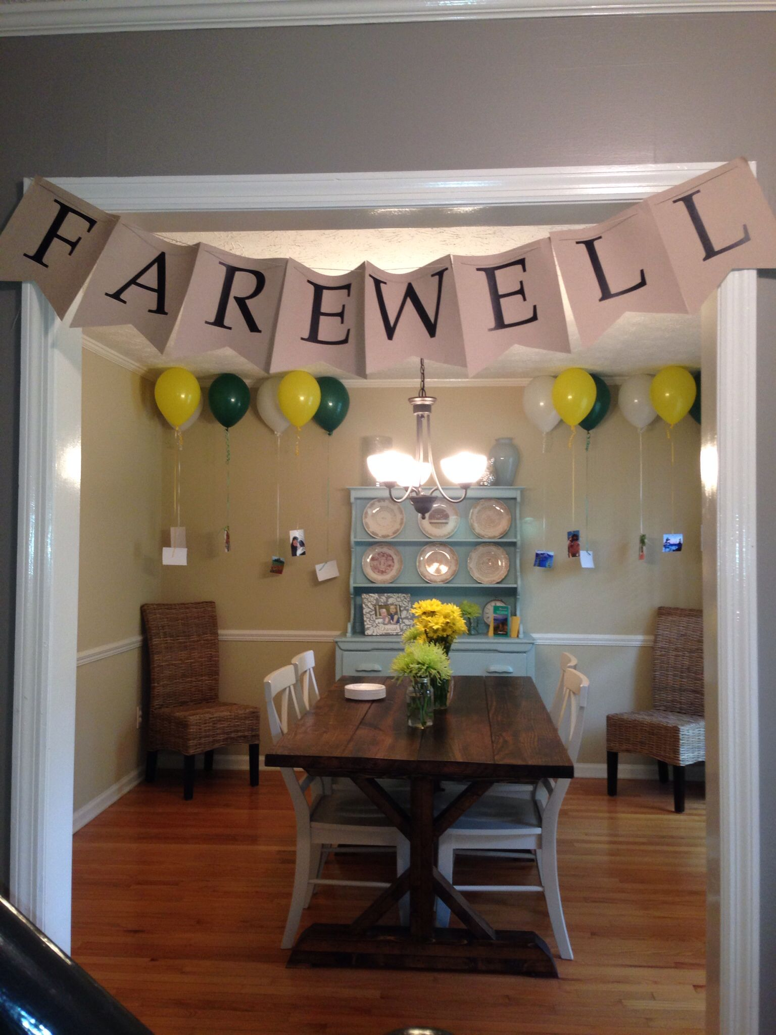 Farewell banner | Banners/ Pendants and Garlands ...