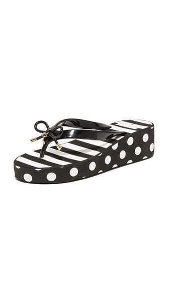 0e83b7d01e2c KATE SPADE Rhett Wedge Flip Flops.  katespade  shoes  sandals