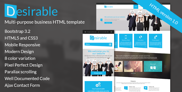 Desirable the multi purpose html5 business template template desirable responsive html5 business template cheaphphosting Gallery