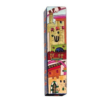 Jerusalem Mezuzah in Full Color by Mezuzah Master. Save 28 Off!. $18.00. This…